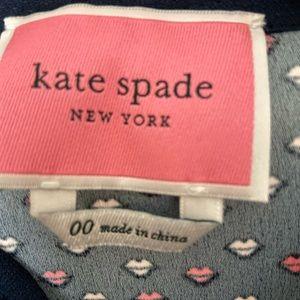 kate spade Dresses - kate spade lips crepe dress